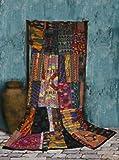 Mixed Huipile Guatemalan Patchwork Quilt