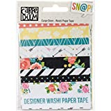 Simple Stories Carpe Diem Washi Paper Tape (12 Pack)