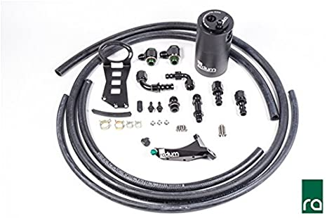 Radium ingeniería aire Separador de aceite kit para 2015 + Subaru Wrx: Amazon.es: Coche y moto