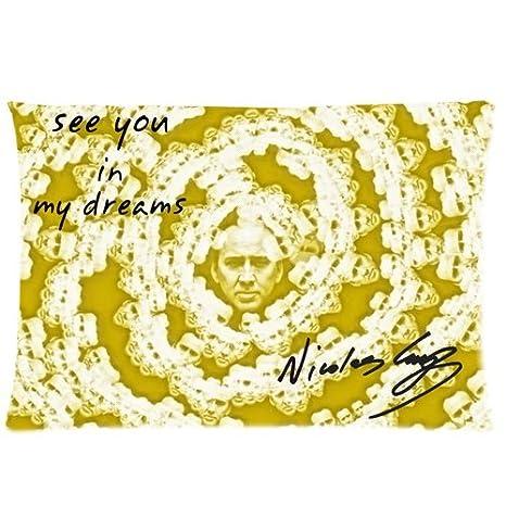 almohada almohada - Nicolas Cage - Custom Rectangle Cotton ...