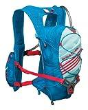 Nathan Zeal 2-Liter Hydration Vest, Light Blue/Danube Blue, One Size