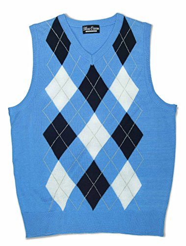 Blue Ocean Kids Argyle Sweater (Blue Argyle Sweater Vest)