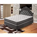 Spinal Solution Mattress,Pillow Top,Pocketed Coil, Orthopedic Full Size Mattress, Acura Collection