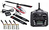 Walkera Super CP 6CH 3G 3D Helicopter with Devo 7E TX RTF w/ extras FAST FREE
