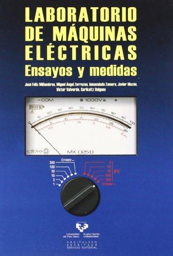 Descargar Libro Laboratorio De Máquinas Eléctricas. Ensayos Y Medidas José Félix Miñambres Argüelles