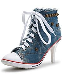 Funtasma High Heel Turnschuh Classic Sneaker REFEREE 125