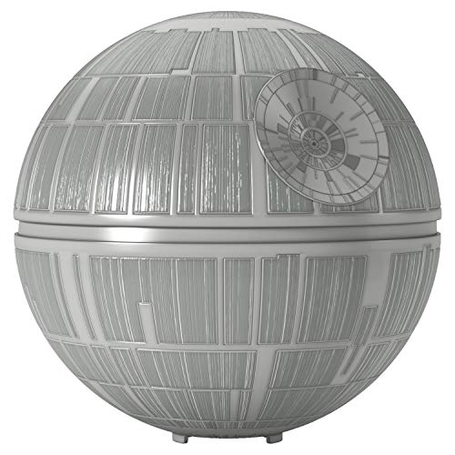 Hallmark Keepsake Christmas Ornament 2019 Year Dated Wars Death Star Tree Topper, 6.3""