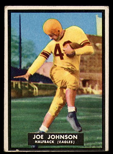 (1951 Topps #68 Joe Johnson VG/EX Very Good/Excellent partial rub)