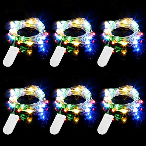 Engilen Fairy Lights 7.2 Feet 20 LED Copper Wire String Lights Decorative Lights Battery Operated