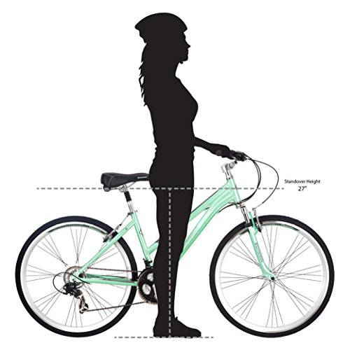 2718942d235 Schwinn Women s Siro Hybrid Bicycle 700c Wheel Small Frame Size ...
