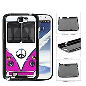 Hippy Mini Van Series V1 Hard Snap on Cell Phone Case Cover Samsung Galaxy Note 2 N7100 (pink)