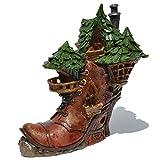 Miniature Ladies Boot Fairy House