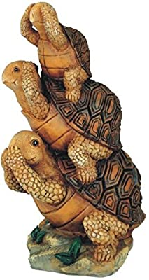 George S. Chen Imports SS-G-61056 Turtle Hear See Speak No Evil Collectible Garden Decoration Figurine