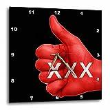 3dRose RinaPiro - Sex Quotes - Sex. - 13x13 Wall Clock (dpp_266083_2)