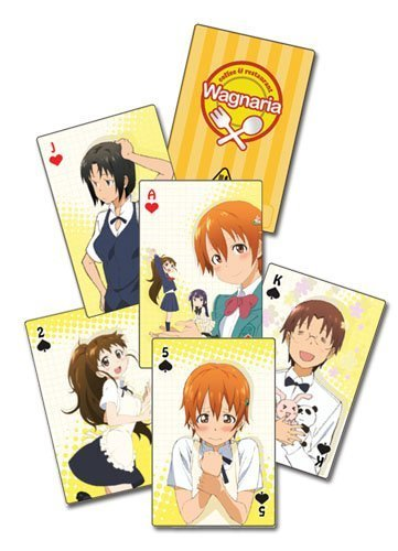 Playing Cards - Wagnaria!! - New Poker Game Anime Gifts Licensed ge51534 by Wagnaria!!