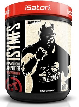 CT Fletcher ISYMFS Pre Workout and Energy Supplement By Isatori featuring Creatine, Caffeine, Carnosyn Beta-Alanine, Teacrine, and Bioperine (Watermelon)