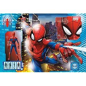 Clementoni Supercolor Puzzle Spider Man 24 Pezzi Maxi Multicolore 28507