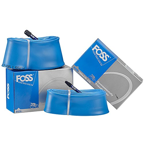 FOSS Bicycle Inner Tubes Select Your Size/Value Type, MTB & Road Bike Tubes Fitted