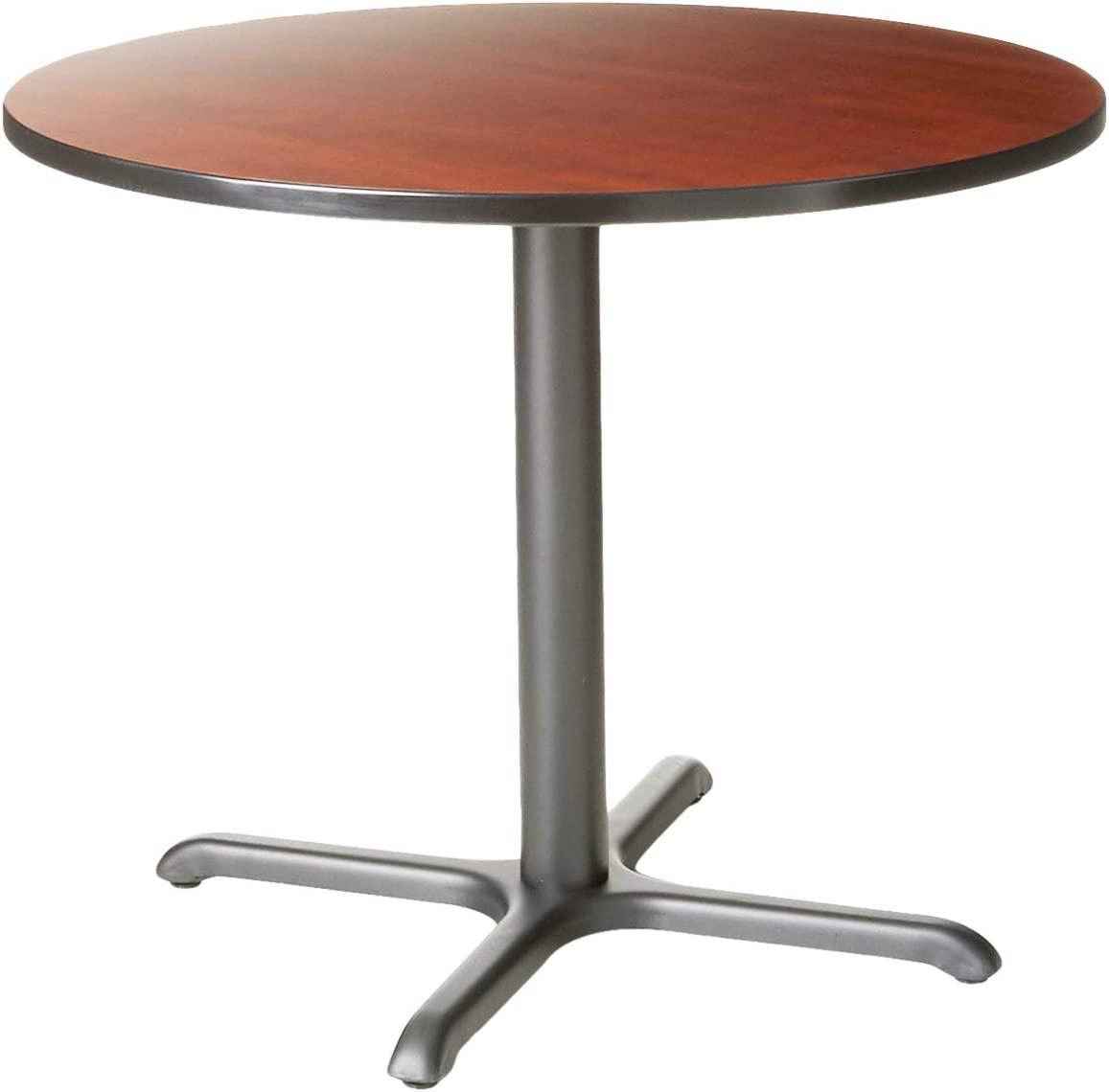 "Cain 36"" Round Breakroom Table- Cherry"