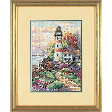 Dimensions Gold Petite Cliffside Beacon Counted Cross Stitch Kit