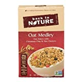 Back to Nature Oat Medley with Cinnamon Clusters Cereal, 10 Ounce - 6 per case.