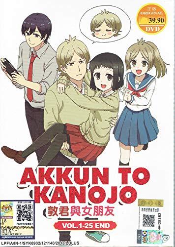 AKKUN TO KANOJO - COMPLETE ANIME TV SERIES DVD BOX SET (25 EPISODES)