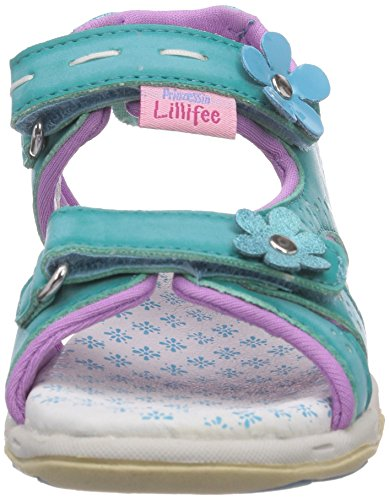 Prinzessin Lillifee 410340 Mädchen Sandalen Blau (lagoon)