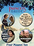 Ata-Boy The Princess Bride Set of 4 1.25in Button Magnets for Refrigerators and Lockers