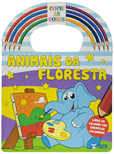 Copie As Cores - Animais Da Floresta