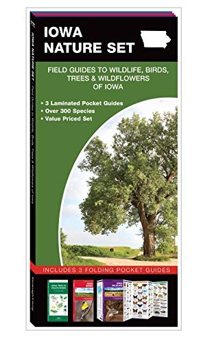 Iowa Nature Set: Field Guides to Wildlife, Birds, Trees & Wildflowers of Iowa