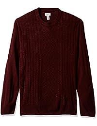 Men's Soft Acrylic Crewneck Sweater