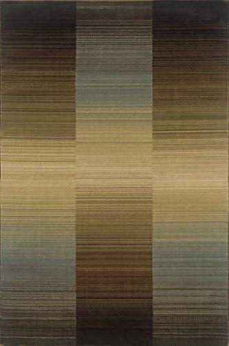 Oriental Weavers Huntington 1991D Area Rug, 5 0 x 7 6 , Brown