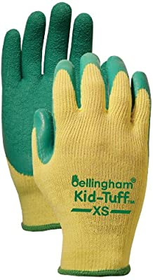 Bellingham KT3100XS Garden Grip Kid-Tuff Work Gloves for Big Jobs, X-Small (Intended to fit Children 5-8 Years Old)