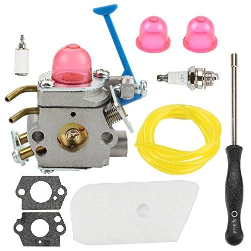 Hilom C1Q-W40A Carburetor Carb with Adjusting Tool for 545081850 545081848 Husqvarna 124L 125L 125LD 125R 125RJ 128C 128CD 128L 128LD 128LDX 128R 128RJ 128DJX String Trimmer by Hilom