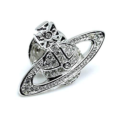 [해외][비비 안 웨스트우 / Vivienne Westwood Vivienne Westwood Badge Tack pin brooch Lapel pin 770274B1 silver