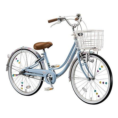 ブリヂストン(BRIDGESTONE) 女の子用自転車 リコリーナ RC23 E.Xカームブルー 22インチ3段変速 ダイナモランプ B071464N28