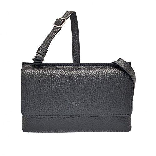 VLD Voi Leather Design - Bolso cruzados para mujer negro