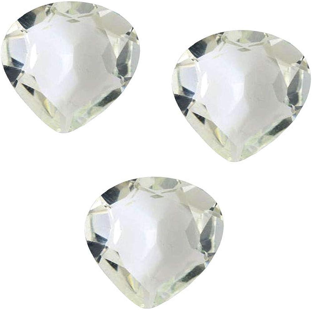 55quilates forma de corazón piedra preciosa original 4x4 5x5 6x6 7x7 8x8 9x9 10x10 11x11 12x12 13x13 14x14 mm, lote de 5 piezas