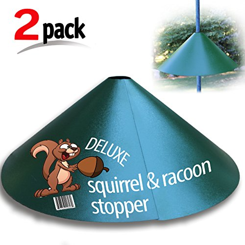 Deluxe Squirrel-Raccoon Stopper 18