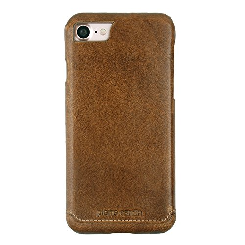 Pierre Cardin iPhone 7 Leather Case Protective Slim fit Snap On Hard...
