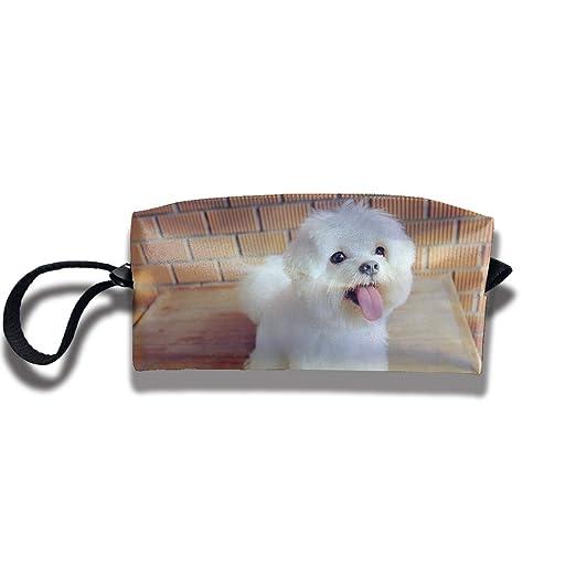 Yitlon8 Maltese Dog One - Estuche para bolígrafos y Monedas ...