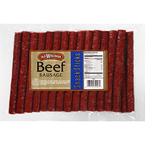 Old Wisconsin Snack Sticks, Beef, 26 Ounce