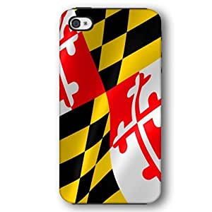 Maryland State Flag United States Flags Diy For Iphone 5/5s Case Cover Armor Phone Case