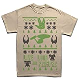 img - for Live Long and Prosper Christmas Xmas Ugly Sweater T shirt SND 5XL book / textbook / text book