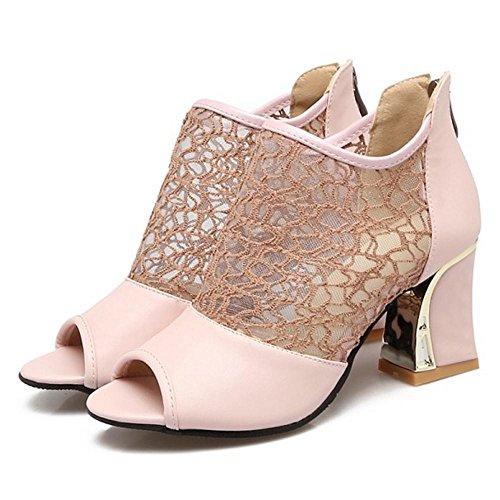 Pink Peep Ete Bottes Femmes Toe VulusValas xqfH0Cw
