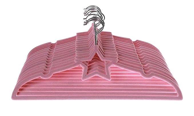 MangoTree – Perchas aterciopeladas de diseño ultrafino y antideslizante, sirven para prendas infantiles (15 unidades)