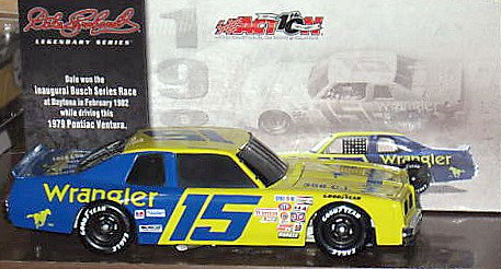 Action NASCAR Dale Earnhardt Sr #15 1979 Chevy Ventura Wrangler 1:24 Scale Die Cast Limited Edition Car