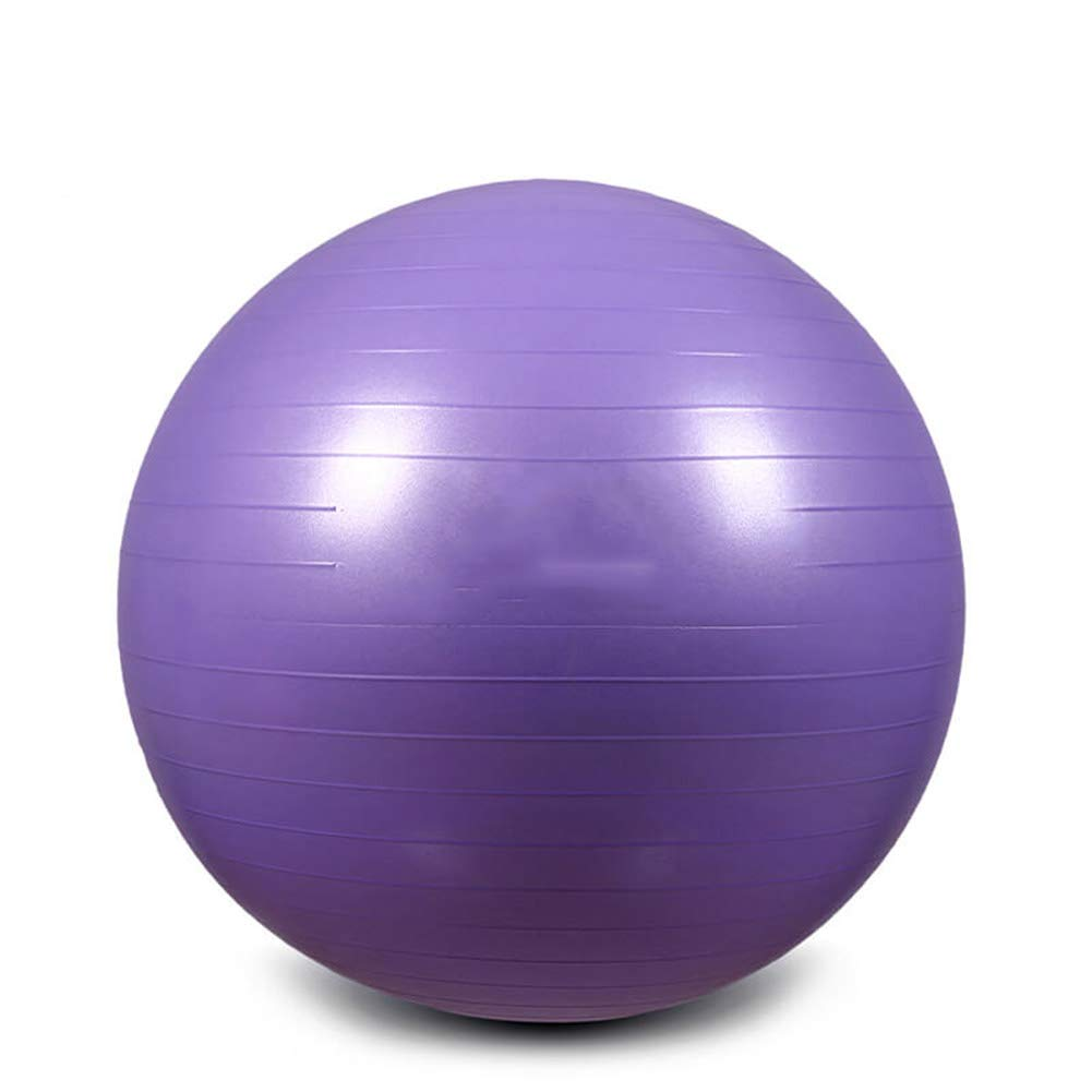 Exercise Ball 75CM Extra Thick Yoga Ball Chair, AntiBurst Heavy Duty Stability Ball Supports Birthing Ball with Quick Pump (Office & Home & Gym)