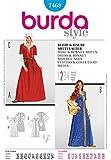Patron de couture Burda 7468 Femme-Déguisement-Costume-& Damsel tailles :  10–28 CAPOT