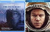 Surviving Space & Wilderness Collection Martian Matt Damon & The Revenant Leonardo DiCaprio 2-Blu Ray Bundle Double Feature